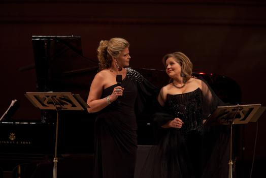 Susan Graham and Renée Fleming.