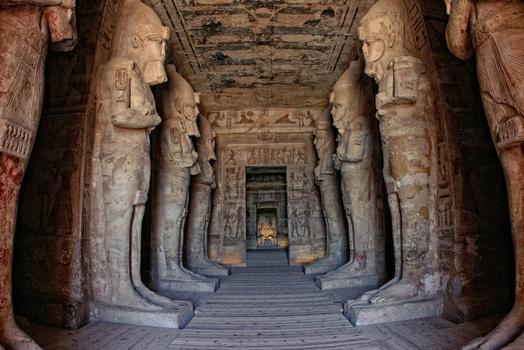 Abu Simbel Ent, in Nubia