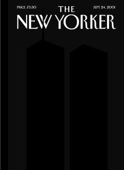 "Art Spiegelman and Françoise Mouly, cover art for ""Ground Zero,"" The New Yorker, September 24, 2001"