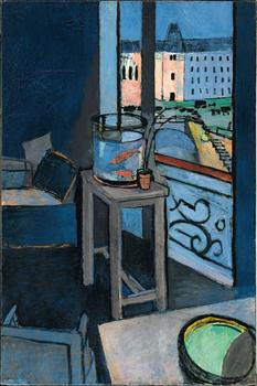 Henri Matisse (French, 1869–1954). Interior with Goldfish. 1914. Oil on canvas, 57 7/8 x 38 3/16 in. (147 x 97 cm)