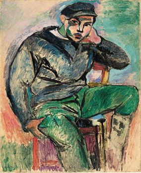 Henri Matisse (French, 1869–1954). Young Sailor I. 1906. Oil on canvas, 39 1/4 x 32 in. (99.7 x 81.3 cm)