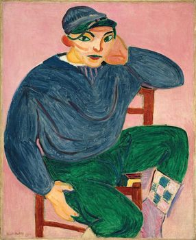 Henri Matisse (French, 1869–1954). Young Sailor II. 1906. Oil on canvas, 39 7/8 x 32 5/8 in. (101.3 x 82.9 cm)