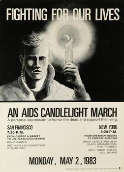 Fighting for our Lives: An AIDS Candlelight March, May 2, 1983