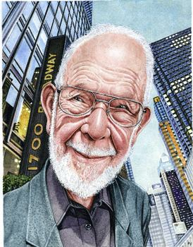 Al Jaffee, illustration by Drew Friedman, from Portraits of Comic Book Legends
