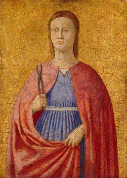 Piero della Francesca (1411/13–1492). Saint Apollonia, 1454–1469