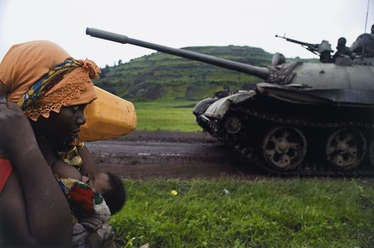 "Congolese women fleeing to Goma, from the series, ""Violence against women in Congo: Rape as weapon of war in DRC,"" 2008"