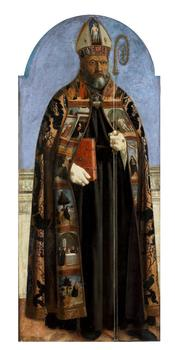 Piero della Francesca (1411/13–1492.) Saint Augustine, 1454–1469