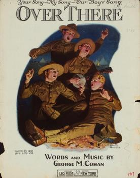 Norman Rockwell. Boy Scouts singing, 1917