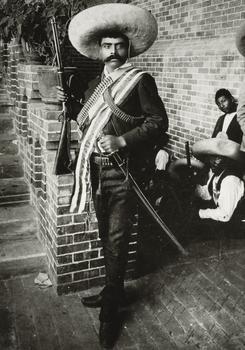 Portrait of Zapata, circa 1914