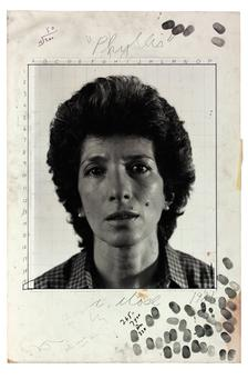Chuck Close. <em>Phyllis/maquette,</em> 1981, gelatin silver print with graphite and ink mounted to board