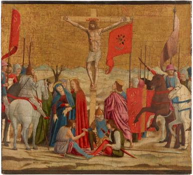Piero della Francesca (1411/13–1492). The Crucifixion, 1454–1469