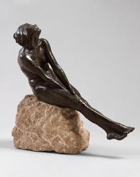 "Jo Davidson, ""Seated Female Nude,"" 1913"