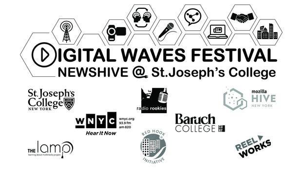 This event was sponsored by St. Joseph's College, Mozilla-Hive Learning Network, WNYC Radio and Red Hook Initiative.