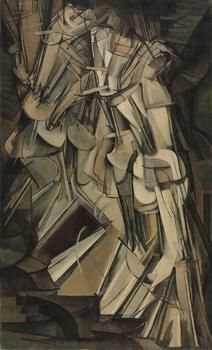 Marcel Duchamp (French, 1887-1968), Nude Descending a Staircase (No. 2), 1912.
