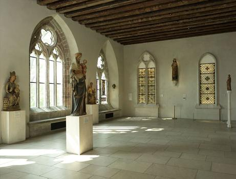 Early Gothic Hall at the Cloisters Museum and Gardens