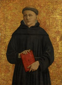 Piero della Francesca (1411/13–1492). An Augustinian Friar (Saint Leonard?), 1454–1469
