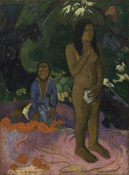 Paul Gauguin (French, 1848-1903), Parau na te Varua ino (Words of the Devil), 1892.