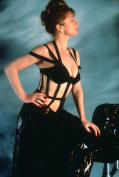 Helen Mirren in Peter Greenaway's 1989 film The Cook, The Thief, His Wife, and Her Lover.