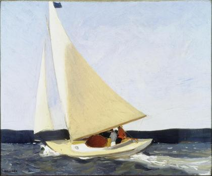 "Edward Hopper, ""Sailing,"" 1911"