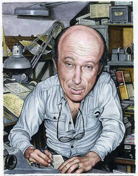 Harvey Kurtzman, illustration by Drew Friedman, from Portraits of Comic Book Legends