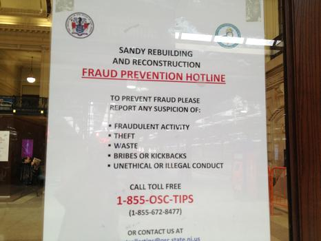 Walk the straight and narrow when it comes to Sandy rebuilding