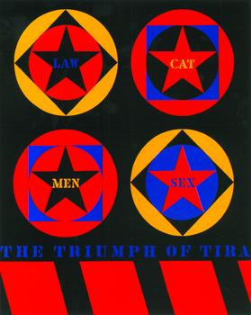 Robert Indiana, The Triumph of Tira, 1960-61