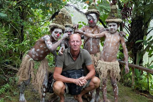 Jimmy Nelson in Papua New Guinea.