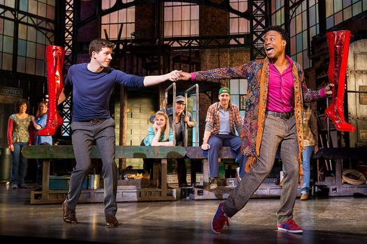 "Scene from ""Kinky Boots"""