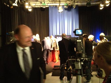 It's 10 pm and Lhota, his long day done, is a blur as he leaves the studio.