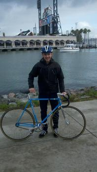 Justin LaBo and his DeRosa
