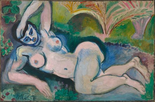 Henri Matisse (French, 1869-1954), Blue Nude, 1907.
