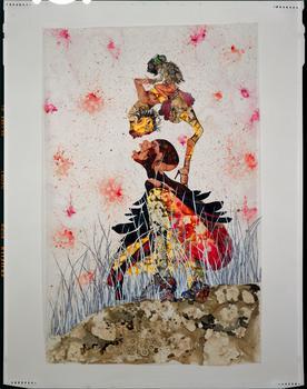 Wangechi Mutu, Misguided Little Unforgivable Hierarchies, 2005