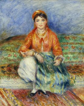Pierre-Auguste Renoir (French, 1841-1919), Algerian Girl, 1881.