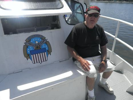 Captain Bill Reddan, owner of the Jeanne II
