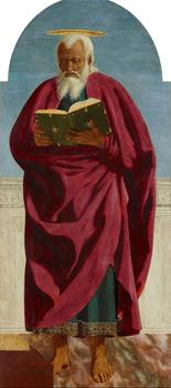 Piero della Francesca (1411/13–1492). Saint John the Evangelist, 1454–1469
