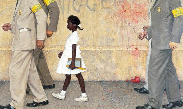 Norman Rockwell's 'The Problem We All Live With' (1963)
