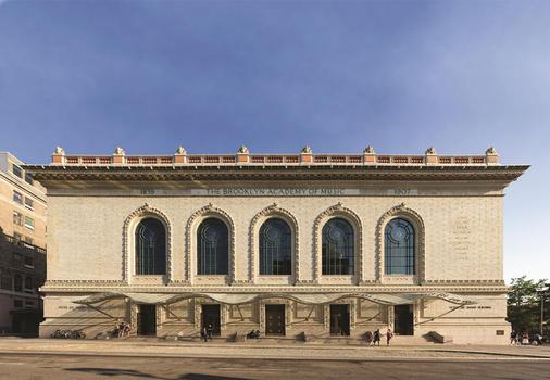 Hugh Hardy, architect. Hardy renovated the façade of the Brooklyn Academy of Music, including the addition of a glass canopy.