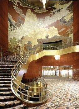 Hugh Hardy, architect. Radio City Music Hall restoration.