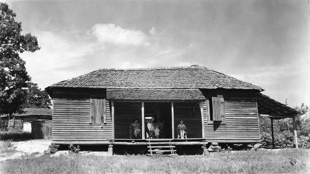 Walker Evans. House, Hale County, 1936.