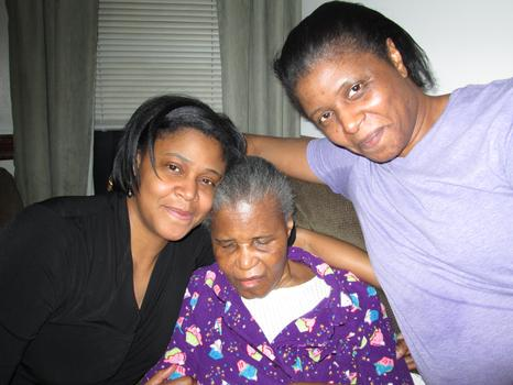 Bernice, Mary and Brenda Osborne.