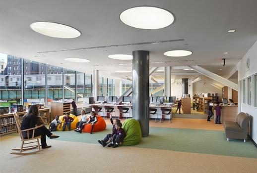 Flexbile space at the New Settlement Community Campus