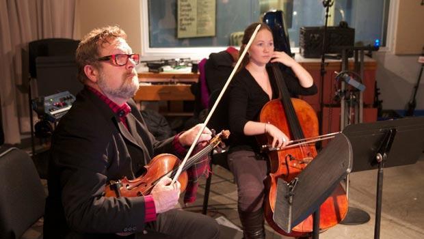 Todd Reynolds, violin; Ashley Bathgate, cello