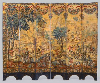 Folding Screen at Brooklyn Museum of Art