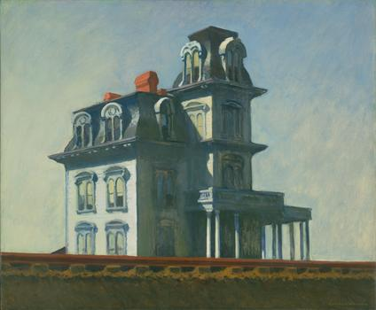 "Edward Hopper, ""House by The Railroad,"" 1925"