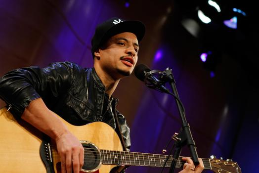 Jose James performs live on Soundcheck in the Greene Space at WNYC.
