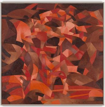 Inventing Abstraction: 1910–1925  Francis Picabia. Dances à la source (Dances at the spring). 1912. Oil on canvas, 8′ 3 1/8″ x 8′ 2″ (251.8 x 248.9 cm).