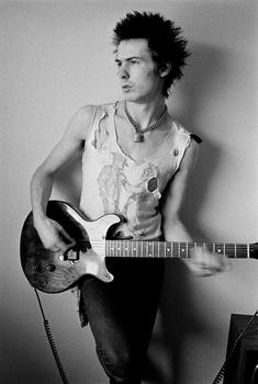 Sid Vicious, 1977. Courtesy of The Metropolitan Museum of Art, Photograph © Dennis Morris - all rights reserved