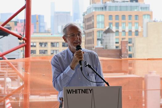 Renzo Piano, architect of the Whitney Museum of American Art