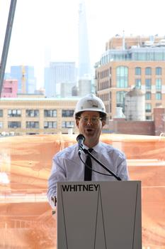 Adam Weinberg, Director of the Whitney Museum of American Art