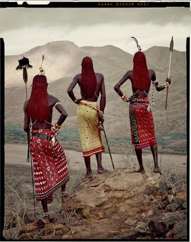 Jimmy Nelson. Samburu, from Kenya. Nyere, Lamulen & Loingu. Milgis. December 2010.